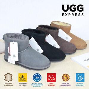 【EXTRA20%OFF】UGG Boots Australian Sheepskin Unisex Mini Classic Water Resistant