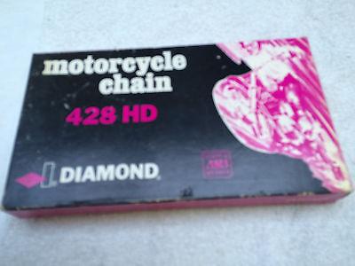 Aufstrebend Diamond Chain 428hd 1/2 X 5/16 -110 Links
