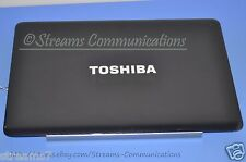 TOSHIBA Satellite A505 A505-S6980 Laptop LCD Backcover w/ Webcam & Wi-Fi Antenna
