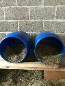 2x50Ltr Recycled Plastic Barrel ideal for Chickens/Ducks Nest Box Easy To Clean
