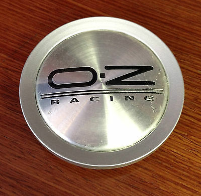 OZ Racing Ultraleggara Silver M623C Wheel Center Cap 81310417 M623 Porsche OZ17
