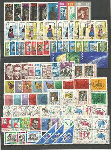 DDR-1964-gestempelt-komplett-mit-allen-Einzelmarken-SUPER-Stempel-3-Foto-s