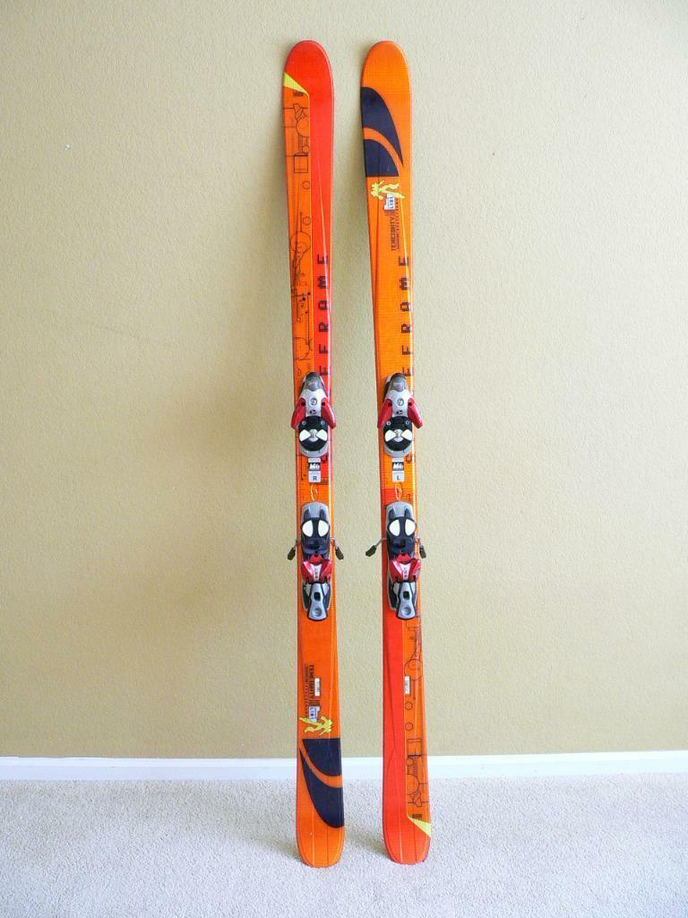 151 Salomon Teneighty Spaceframe Skis 0405 Salomon S810