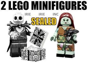 2-JACK-amp-SALLY-Lego-SEALED-Skellington-The-Nightmare-Before-Christmas