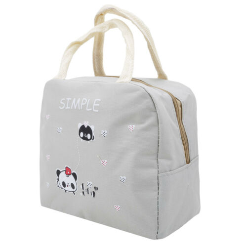 Waterproof Thermal Insulated Cooler Bag Lunch Bento Carry Tote Storage Case Shan