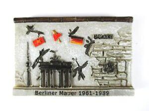 Berlin-Mauer-Wall-Poly-Magnet-Fridge-Souvenir-Germany-Deutschland-Neu