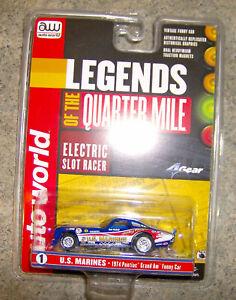 Auto World Mickey Thompson MARINES Pontiac Grand Am Funny Car Body Fits 4-Gear