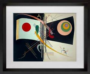 Wassily KANDINSKY Lithograph Limited Edition w/Frame Included