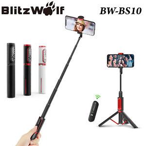 BlitzWolf-Bluetooth-Universal-Phone-Remote-Control-Selfie-Stick-Tripod-Monopod