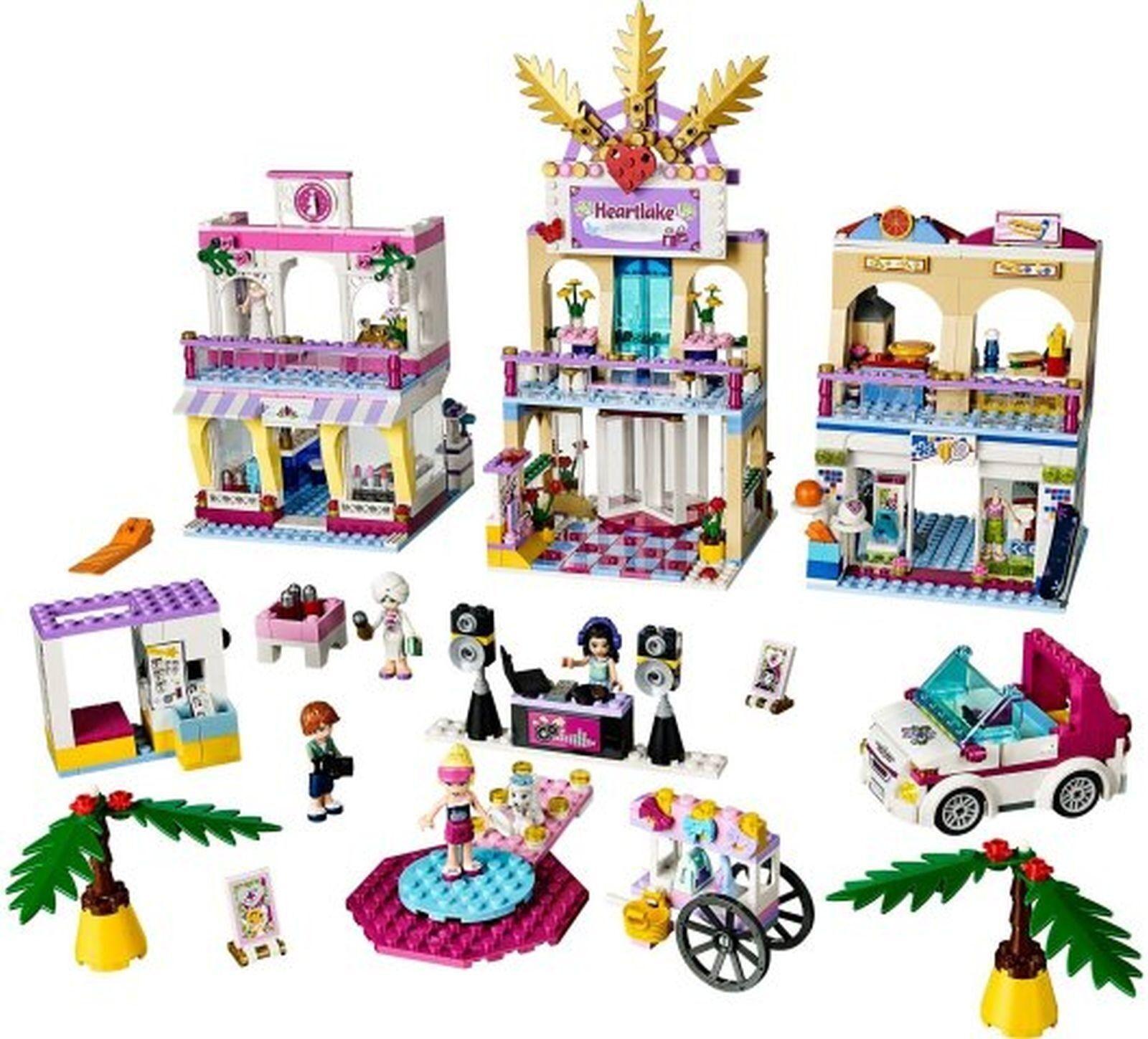 Lego 41058 amigos  Heartlake Centro Comercial Comercial Comercial  4 Minifiguras Completa  distribución global
