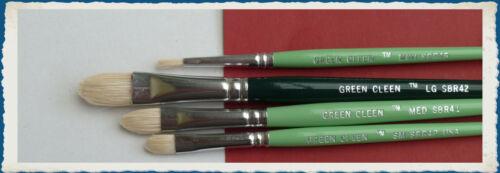 ex Seeleys Brush SBR045 mini Green Clean CDM
