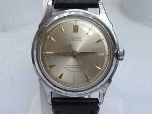 Watch-Horloge-Vintage-Anker-17rubis-shockproof-old-men-039-s-watch