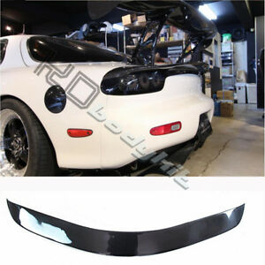 Details about CARBON FIBER CSG (CAR SHOP GLOW) STYLE TRUNK WING FOR RX7 FD3S