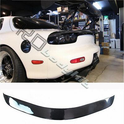 CARBON FIBER CSG (CAR SHOP GLOW) STYLE TRUNK WING FOR RX7 FD3S   eBay
