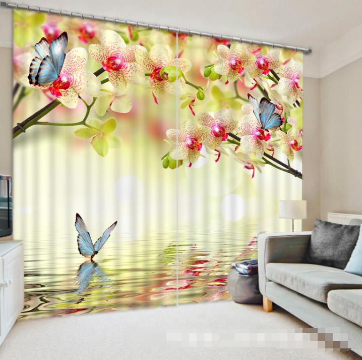 3d fiore fresco 773 blocco foto sipario pressione sipario tende tessuto finestra de