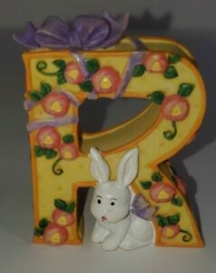Mary-Engelbreit-Collectible-Alphabet-Letter-R-034-Figurine