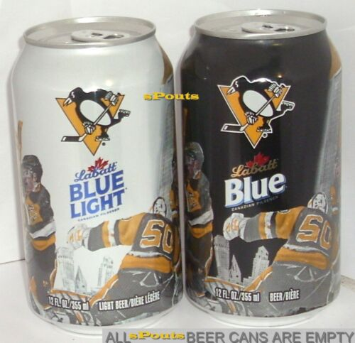 2017 PITTSBURGH PENGUINS 50th LABATT BEER CANS NHL ICE HOCKEY CANADA-USA SPORT