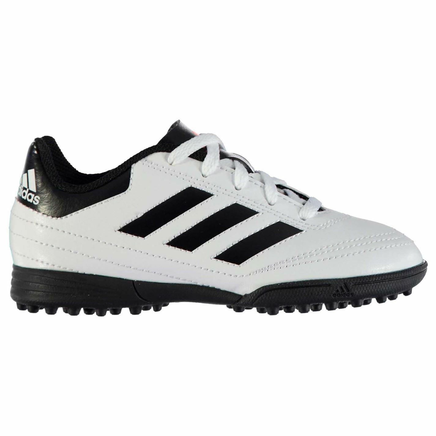 Adidas Goletto Astro Ag Erba Artificiale Scarpe Sportive Juniors Calcio Bianco