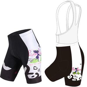 Women-039-s-Bicycle-Shorts-Bib-Shorts-Padded-Bike-Cycling-Shorts-Knickers-S-5XL