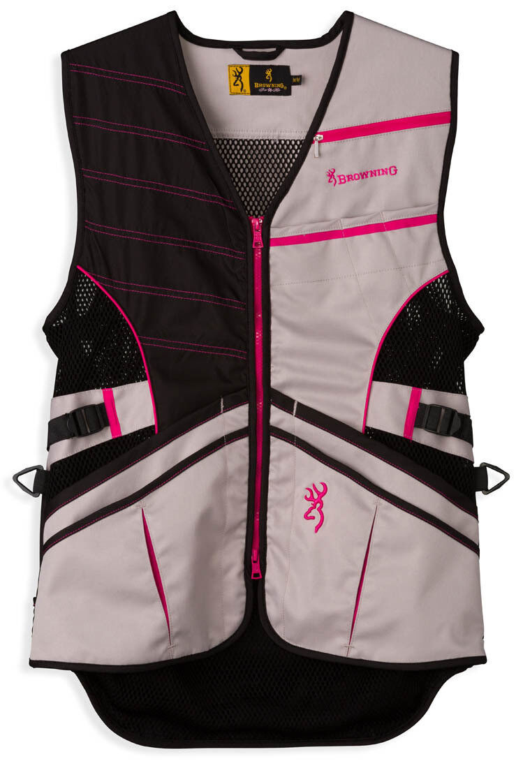 Women's Browning Ace Shooting Vest for  Her G  Lightweight Size S-XL  hastened to see