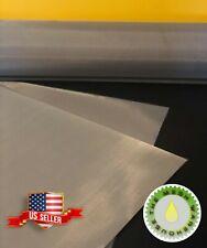 80 Mesh 177 Micron 12x36 Stainless Steel Screen Dry Ice Bucket Usa Stock