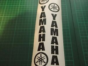 Yamaha Fork  Motorcycle/Motorcross Vinyl  CARBON FIBRE