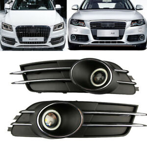 Fog-Lamps-Grille-Fog-Light-Wiring-Harness-For-Audi-A6-C7-4Gd807681B-4Gd807682B