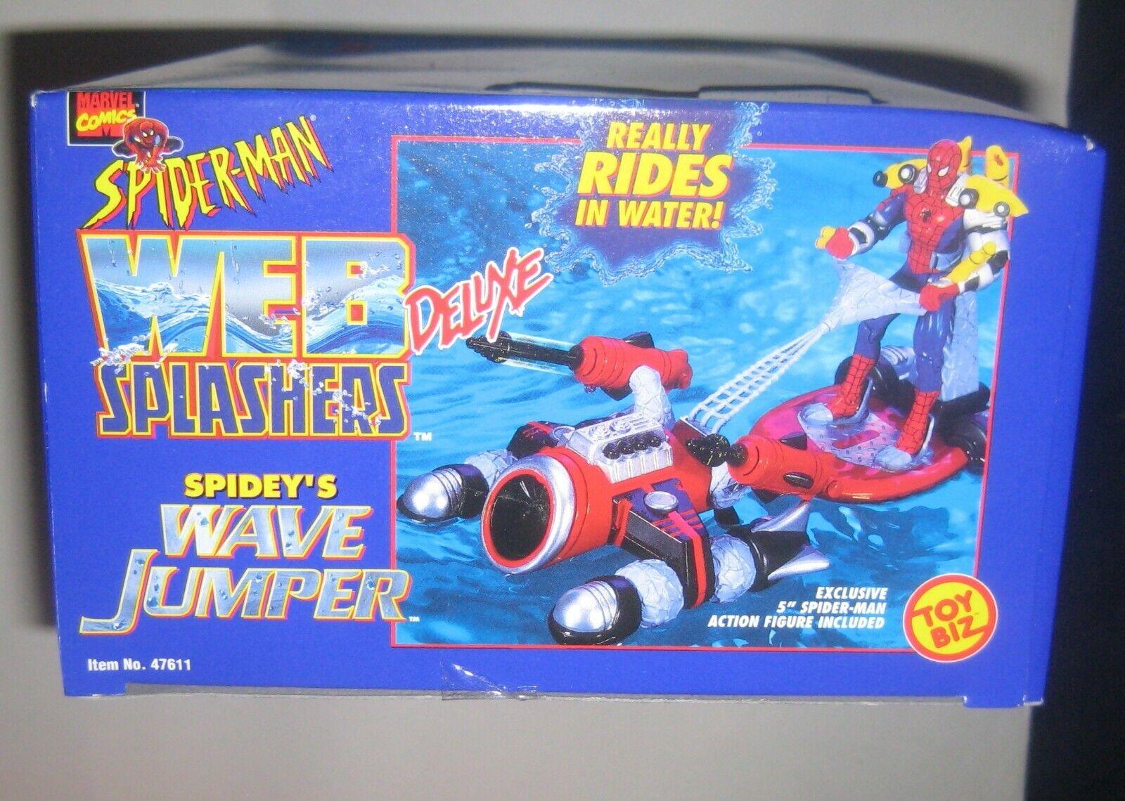 Spider-Man WEB Splashers Spidey's Wave Jumper ToyBiz 1997 Marvel Comics