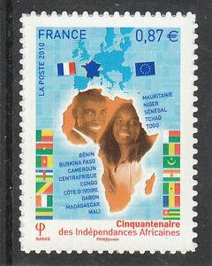 TIMBRE-AUTOADHESIF-NEUF-N-472-INDEPENDANCES-AFRICAINES
