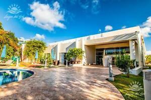 terreno amplio en venta en Cancún, lagos del sol