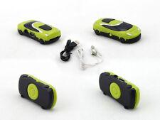 Fashion Green Mini Car Shape Gift MP3 Player For 2GB 4GB 8GB Micro SD TF Card