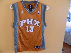 premium selection 1fd3c b1177 Details about Steve Nash jersey PHOENIX Suns size Youth medium 10-12 years  REEBOK
