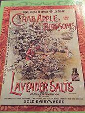 Crab Apple Blossoms Lavender Salts Nostalgia Jigsaw Puzzle