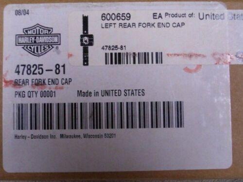 OEM Harley FXR Left Side Swingarm End Cap-$67!