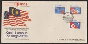 F128-MALAYSIA-1986-FLIGHT-OF-MAS-TO-LOS-ANGELES-FDC