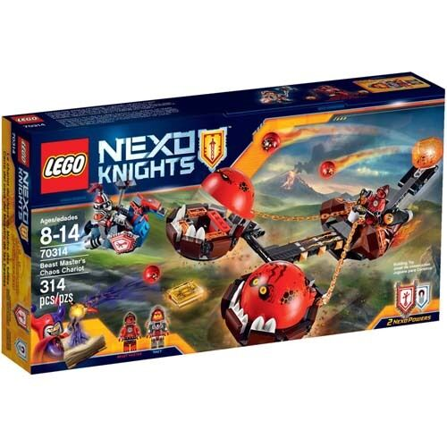 LEGO NEXO KNIGHTS  Beast Master's Chaos Chariot 70314
