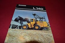 Michigan L140 Wheel Loader Dealer's Brochure DCPA4