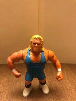 WWF HASBRO BLUE CARD THE MOUNTIE LOOSE FIGURE WWE RETRO WCW