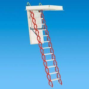 Rainbow M3060h Prestige Telescoping Attic Ladder Stair 9