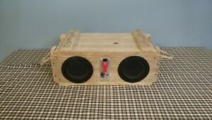 Details about Ammo Can Boombox Bluetooth Speaker Ammo Crate Speaker Box,  Ammo Speaker