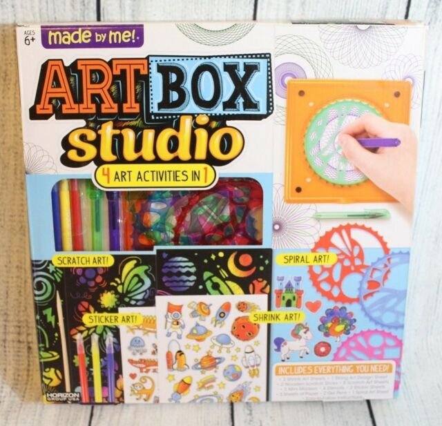 Made By Me Art Box Studio By Horizon Group Usa Kids Crafts 4 Art