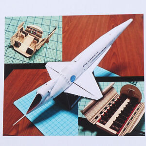 3D-Paper-Model-Kit-2001-A-Space-Odyssey-Orion-Space-Clipper-DIY-Handcraft-UV
