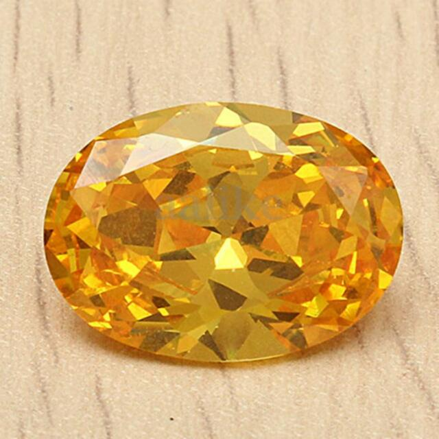 13x18MM Beautiful Yellow Sapphire Oval Shape Lustrous Loose Gemstone Stone Gem