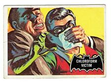 Batman - #6 1966 Topps Trading Card - Black Bat - Chloroform Victim