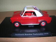 Atlas Fabbri Autobianchi Bianchina Trasformabile rot Baujahr Modell 1958  1:24