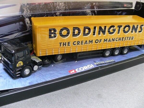 1/50 CORGI ERF ec11 Boddingtons Boddingtons Boddingtons Cream of Femmechester rideaux planifier-SEMI-REMORQUE GB | Mode