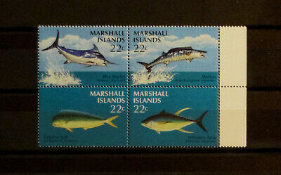 Fsh241 Marshal Islands Fish (mnh) Block