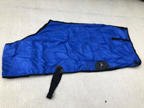 "Royal Blue 82/"" Horse Close Front  V Free Nylon Sheet Summer Spring"