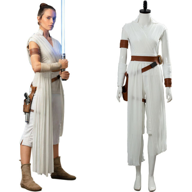 Rey Adult Costume The Force Awakens VII 7 Last Jedi VIII 8 Star Wars Cosplay