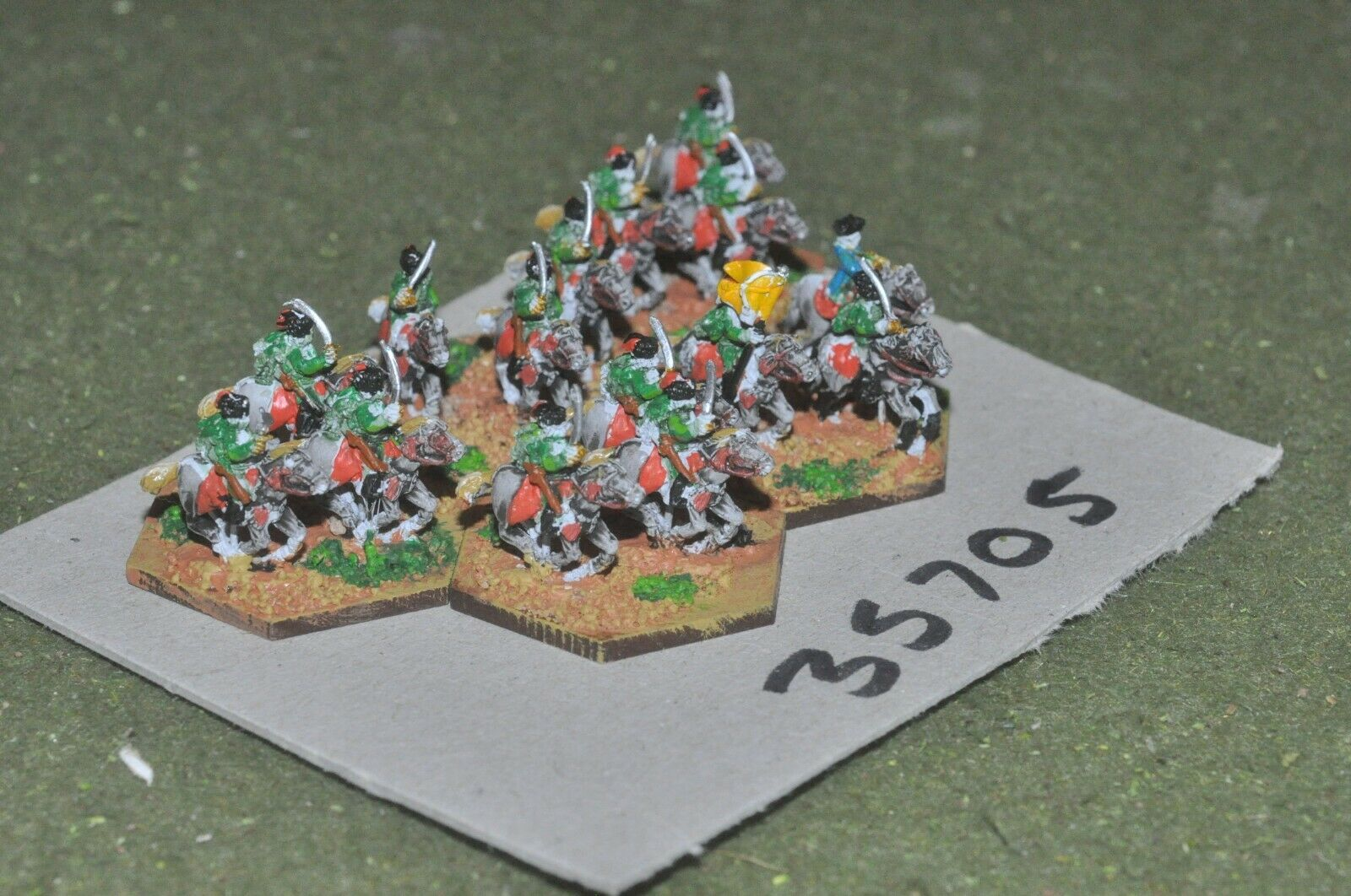 10mm 7YW   austrian - hussars 15 figures - cav (35705)